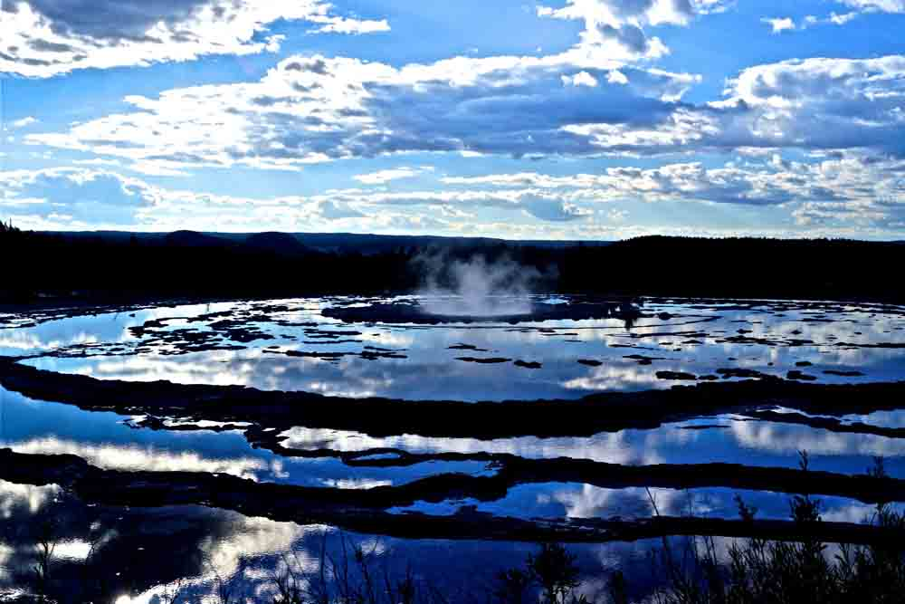 Yellowstone National Park, Wyoming, August 2014