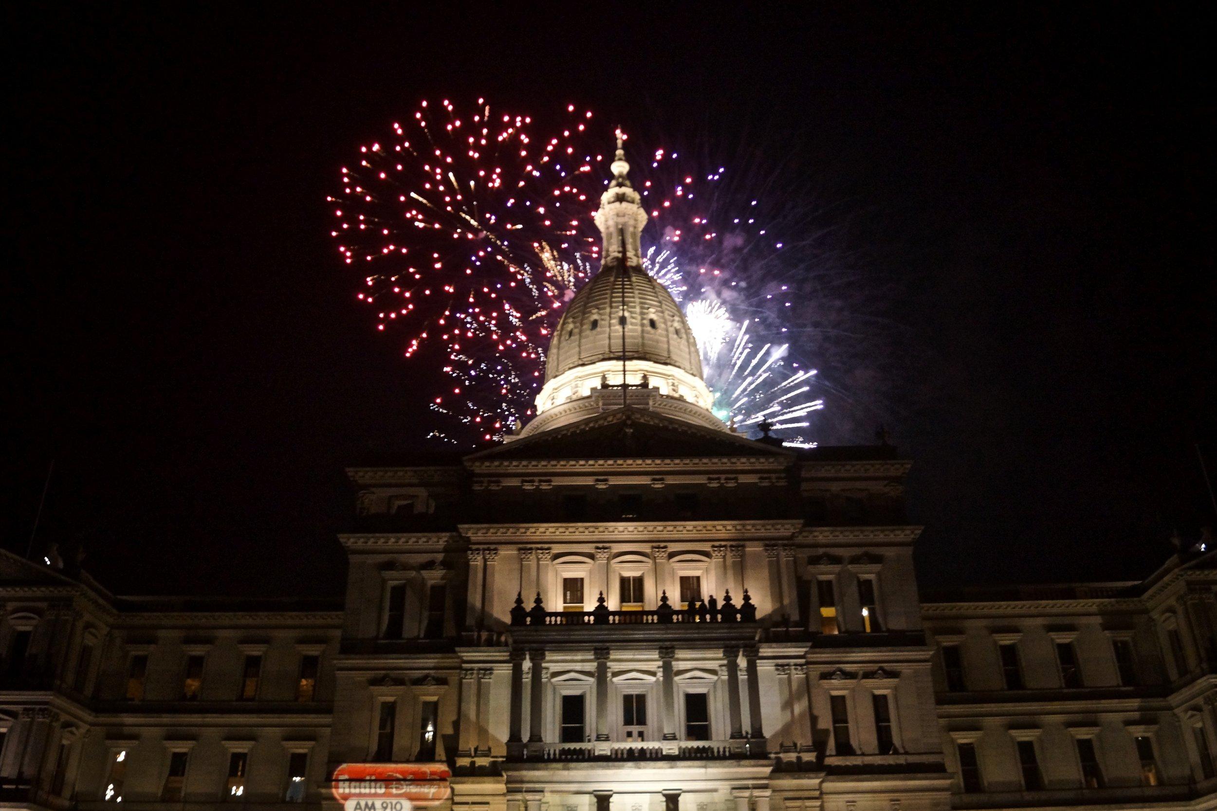Michigan State Capitol, 2012/Susan J. Demas