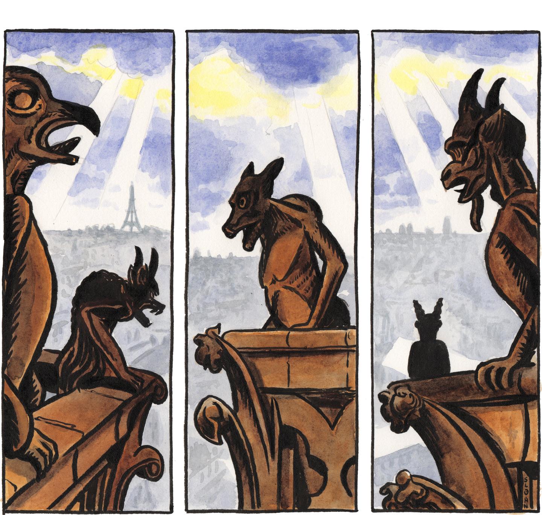 #4: Nimbus Lives With Gargoyles.