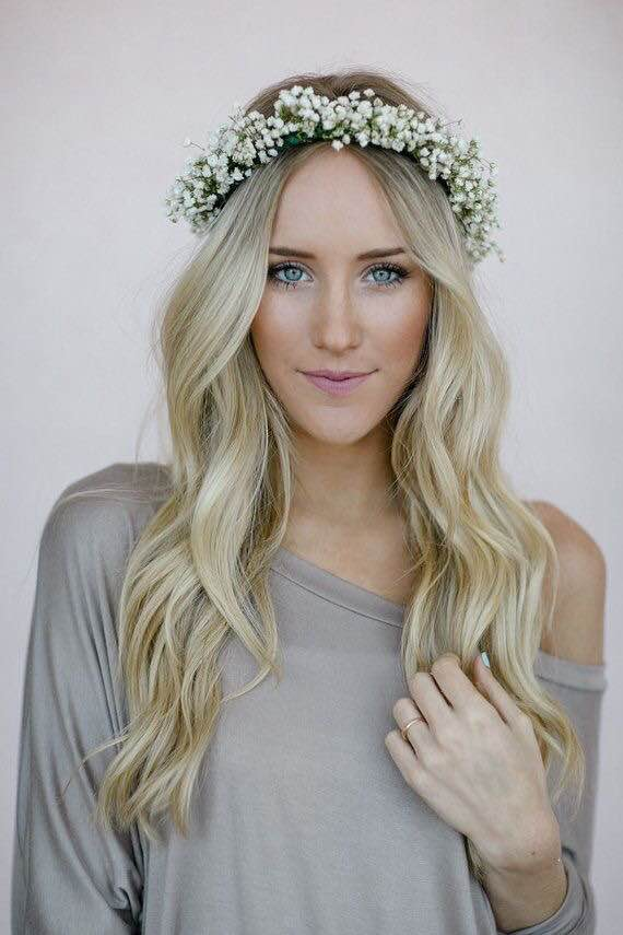Guesses - $20 - $100    Average - $30    Actual cost - $45    Flower crowns are a huge trend right now! The price for flower crowns is based more on labor (30-60min each) than the product cost. Prices vary based on the size required (a flower girl crown is less expensive than for a bride)