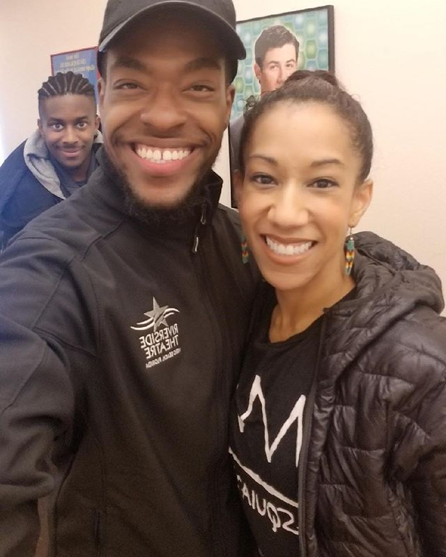 🥰🥰Look who I got to hoof with this morning!! 🥰🥰 @iancoulterbuford and @lamontbrownnyc (plus a BUNCH of other friends and fam that aren't pictured). #actor #singer #dancer #blessedandbeautiful  #blackhistorymonth
