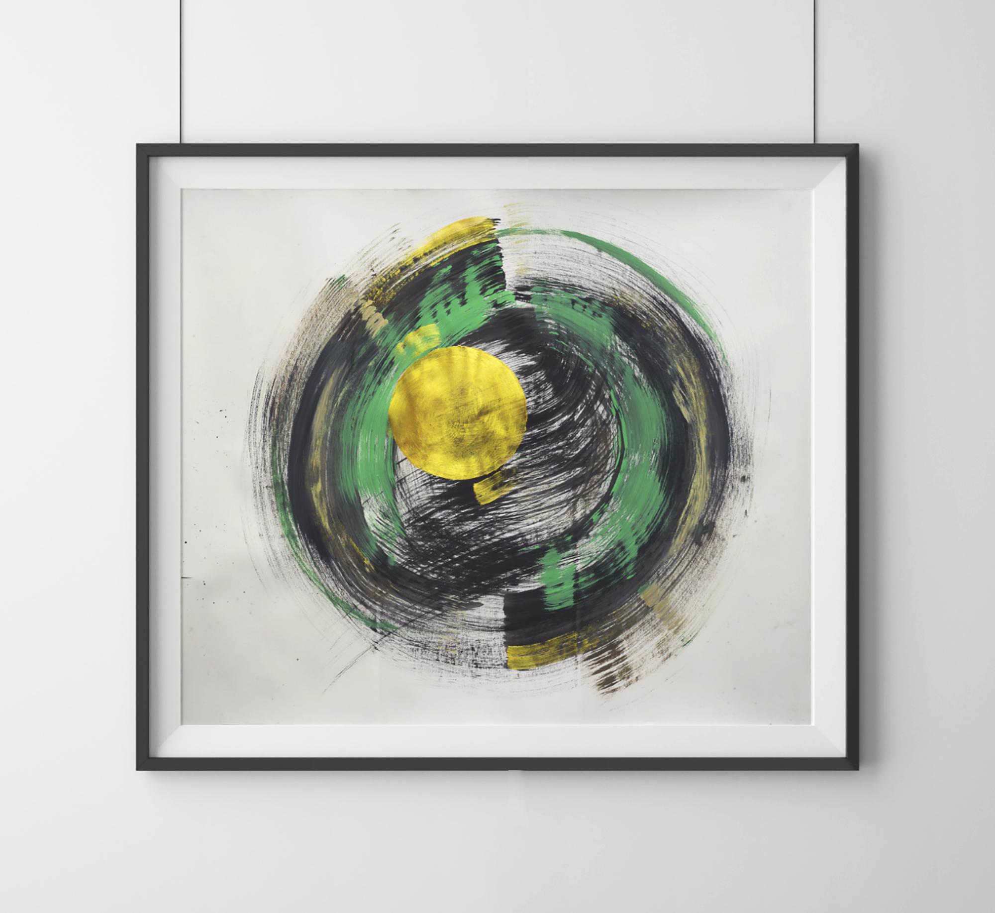 Orbita | Original 2017  Acrylic and China Ink   Available