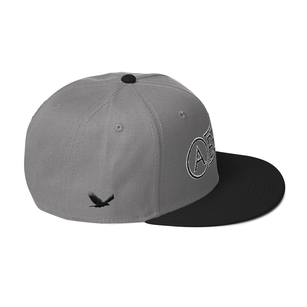 High-Profile-Hat-Black-Outlined_A.Bevy-Full-PNG-Black_Black-Bird_CREATE_mockup_Right-Side_Black--Gray--Gray.png