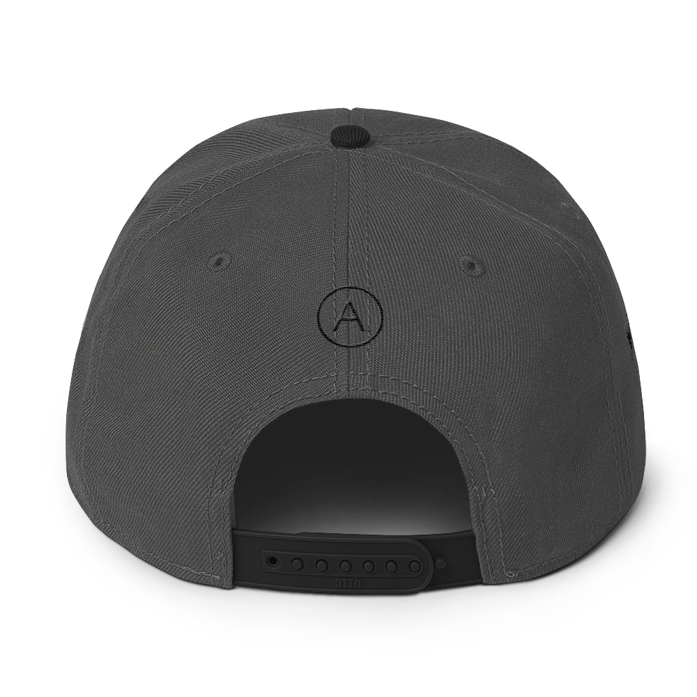 High-Profile-Hat-Black-Outlined_A.Bevy-Full-PNG-Black_Black-Bird_CREATE_mockup_Back_Black--Charcoal-gray--Charcoal-gray.png