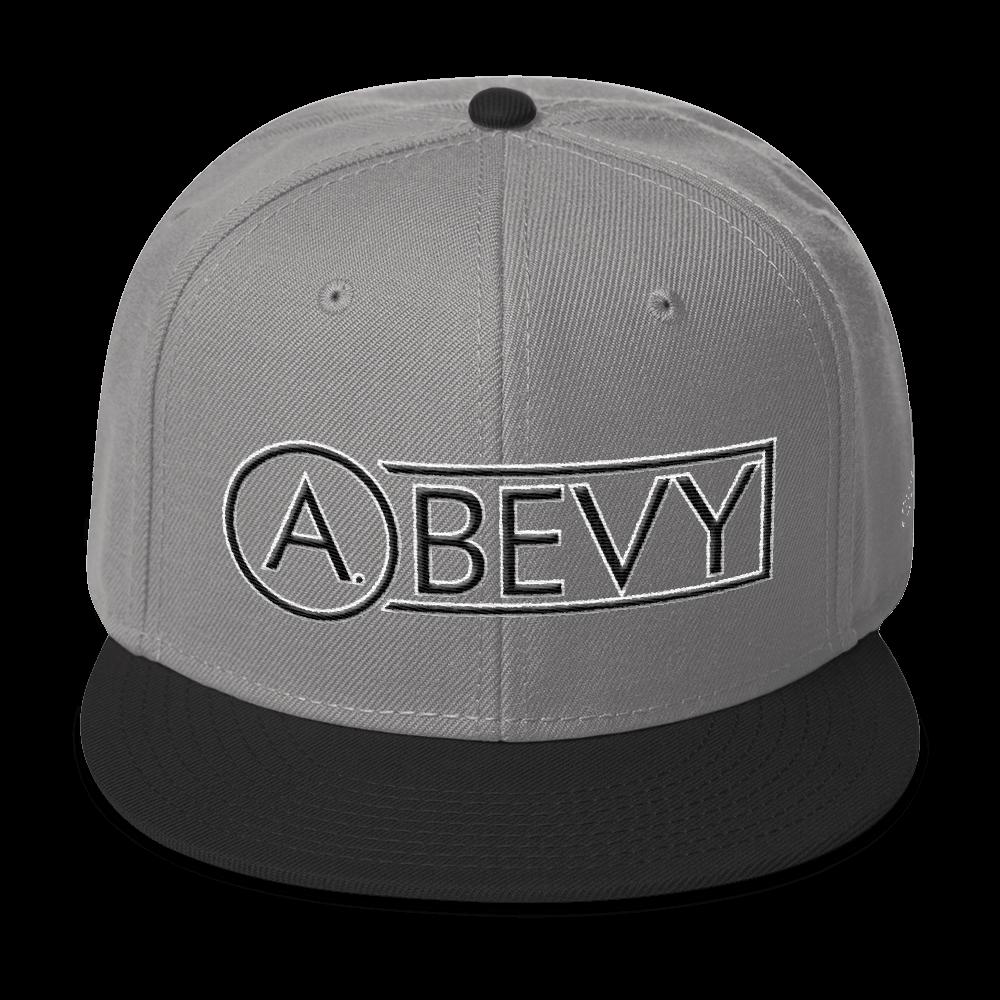 High-Profile-Hat-Black-Outlined_A.Bevy-Full-PNG-Black_Black-Bird_CREATE_mockup_Front_Black--Gray--Gray.png