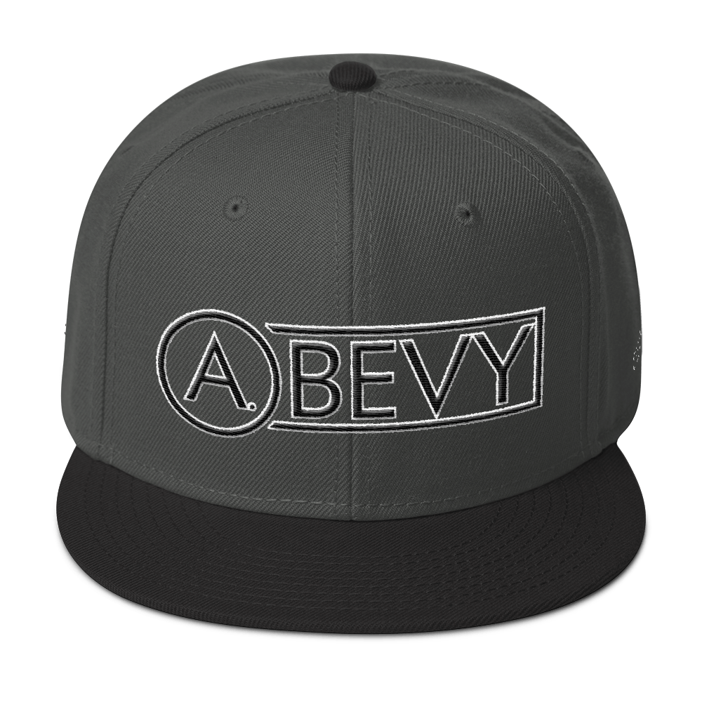 High-Profile-Hat-Black-Outlined_A.Bevy-Full-PNG-Black_Black-Bird_CREATE_mockup_Front_Black--Charcoal-gray--Charcoal-gray.png