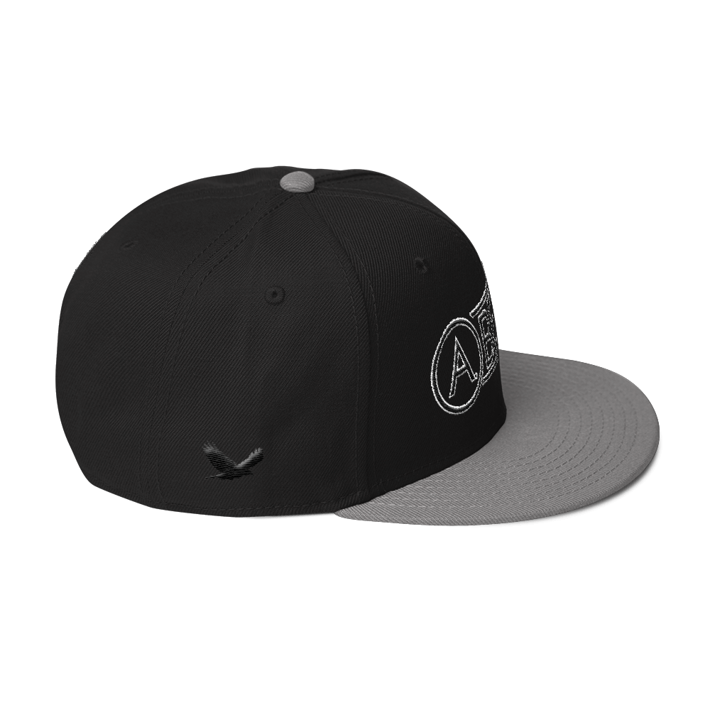 High-Profile-Hat-Black-Outlined_A.Bevy-Full-PNG-Black_Black-Bird_CREATE_mockup_Right-Side_Gray--Black--Black.png