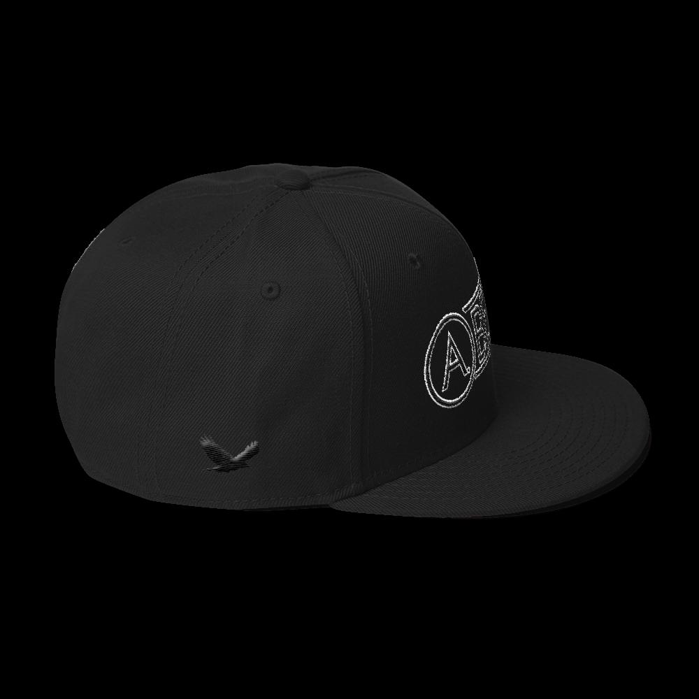 High-Profile-Hat-Black-Outlined_A.Bevy-Full-PNG-Black_Black-Bird_CREATE_mockup_Right-Side_Black.png