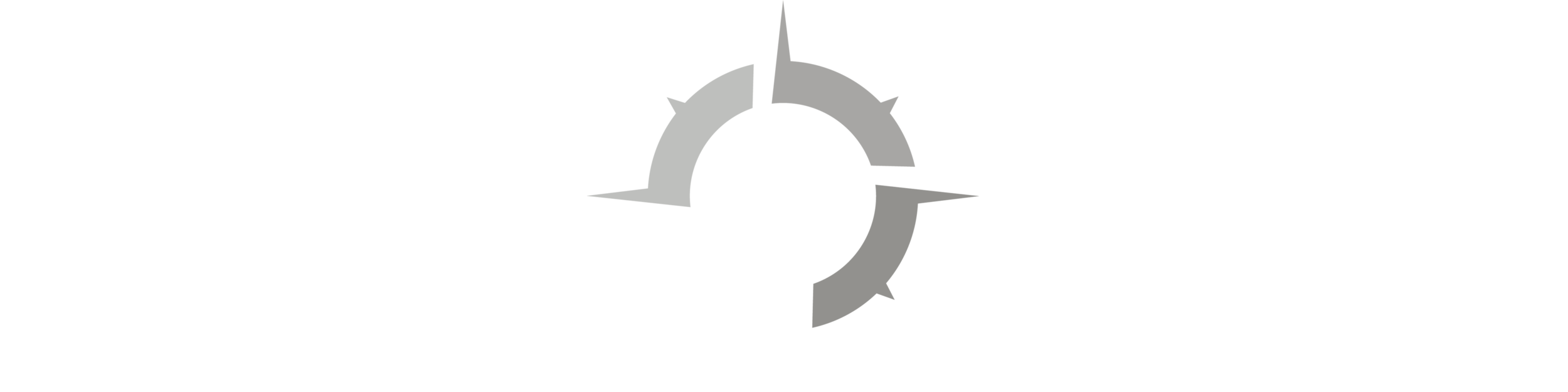 White Logo Arrow Down Banner.png