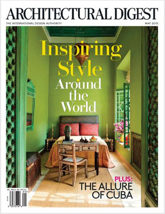 ARCHITECTURAL DIGEST - May 2015 COVER - The Allure of Cuba - pgs 116-124.jpg