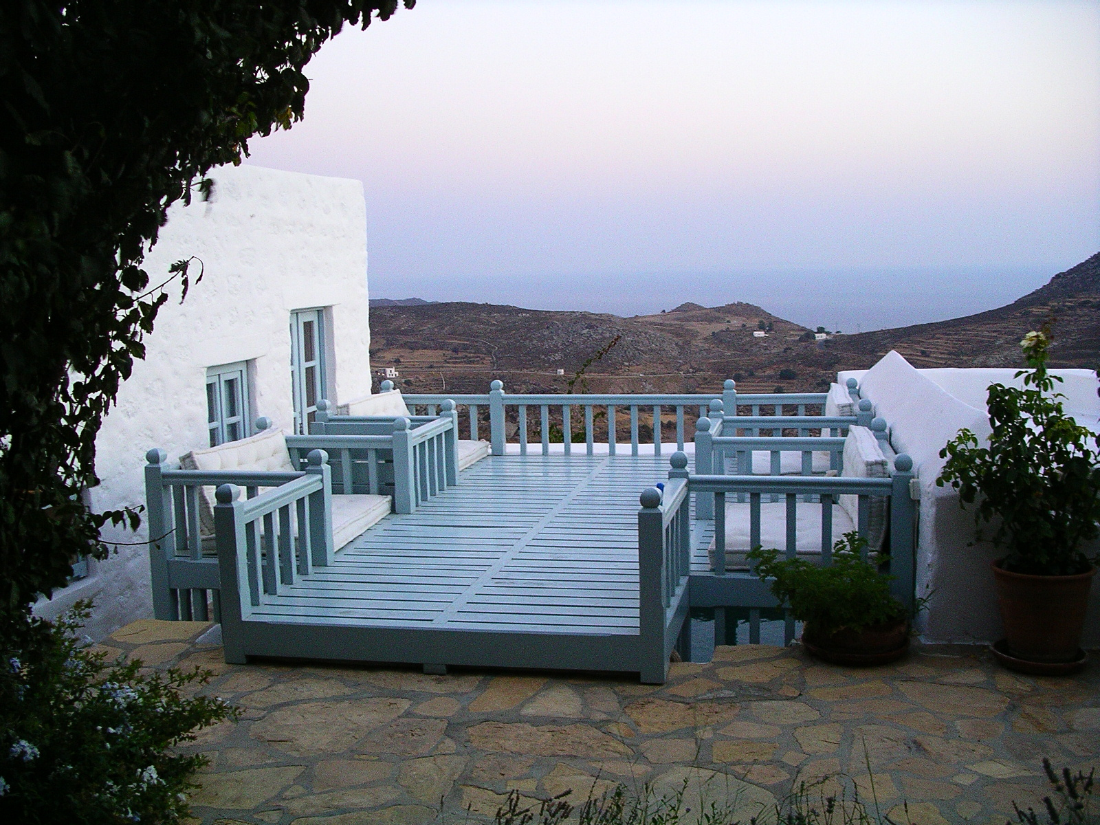 A HOUSE ON A GREEK ISLAND
