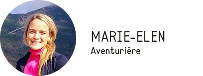 Rêveuse au sourire contagieux, Marie-Elen est toujours prête pour une nouvelle aventure!