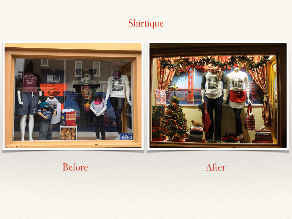 Before and After Shirtique