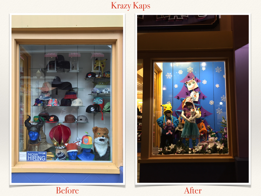 Before and After Krazy Kaps