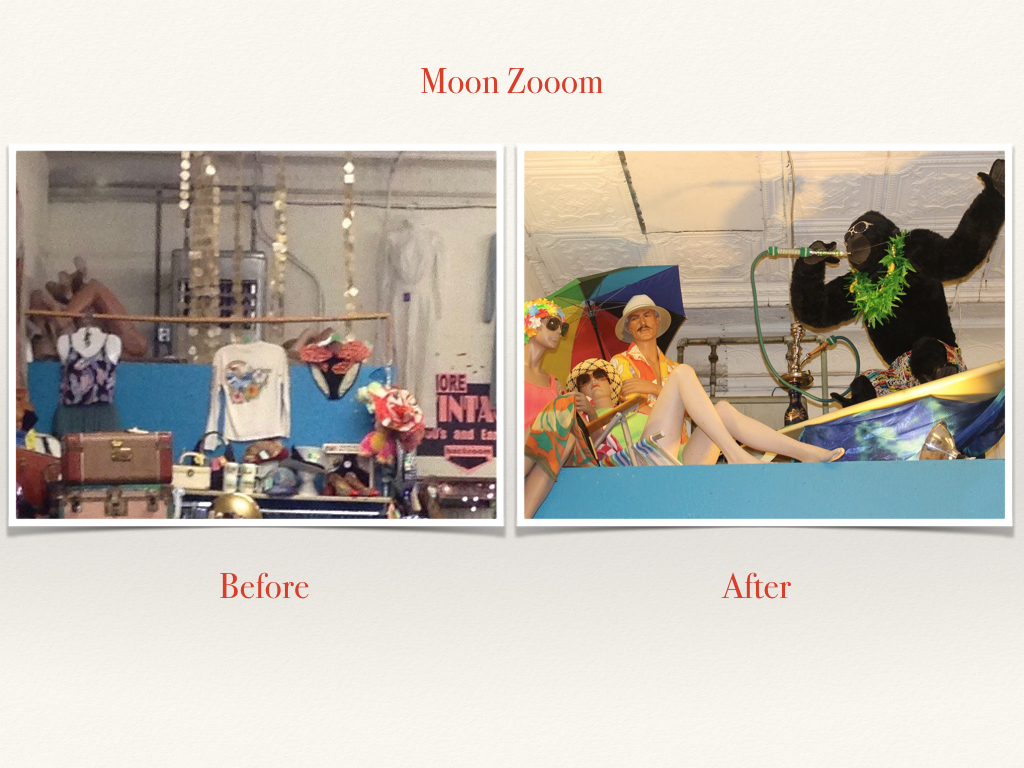 Before and After Moon Zooom