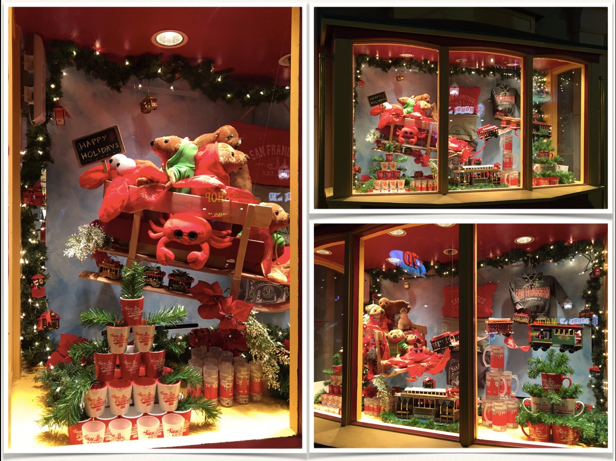 The Cable Car Store Award Winning Holiday Window Display