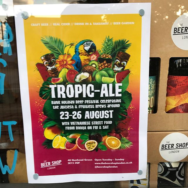 🦜🌴 TROPIC-ALE 🌴🦜 See you Friday. 😘
