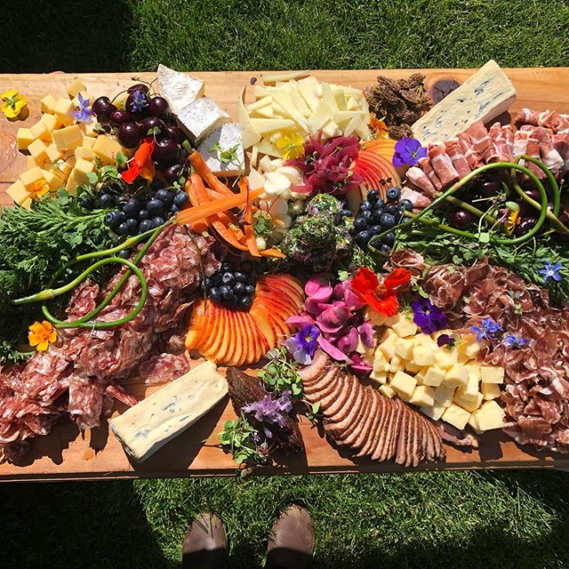 It's wedding season - which means we get to make a ton of these beautiful charcuterie boards!