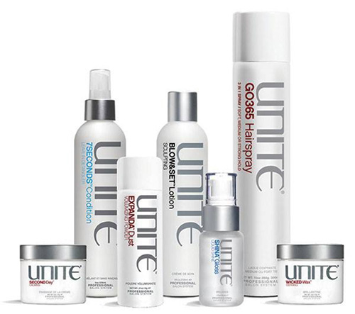 We Proudly Carry Unite Products - Inspired backstage and honed at the salon, UNITE has fast become one of the most sought-after product lines globally. The collection's pure performance, versatility and efficacy have landed UNITE in some of the most high-profile salons in the world and behind the scenes of New York, Los Angeles and London Fashion Weeks. Working with prominent designers to forecast hair trends for each upcoming season, UNITE continually formulates effective products to achieve the looks of today as well as the future. UNITE is proudly sulfate-free, paraben-free, sodium chloride-free, non-animal tested and only found in premium, professional salons.