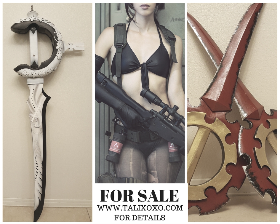 First up, I'm selling my beloved Quiet costume, originally sponsored by Matt Andre. I just don't have room for this costume anymore and unfortunately I'd like to put the money to a new costume :< I'll miss it but I want it to go to the right person who will love it as much as I did.