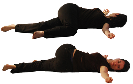 yoga Shava Udarakarshanasana
