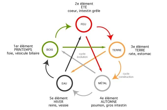 Théorie des 5 mouvements