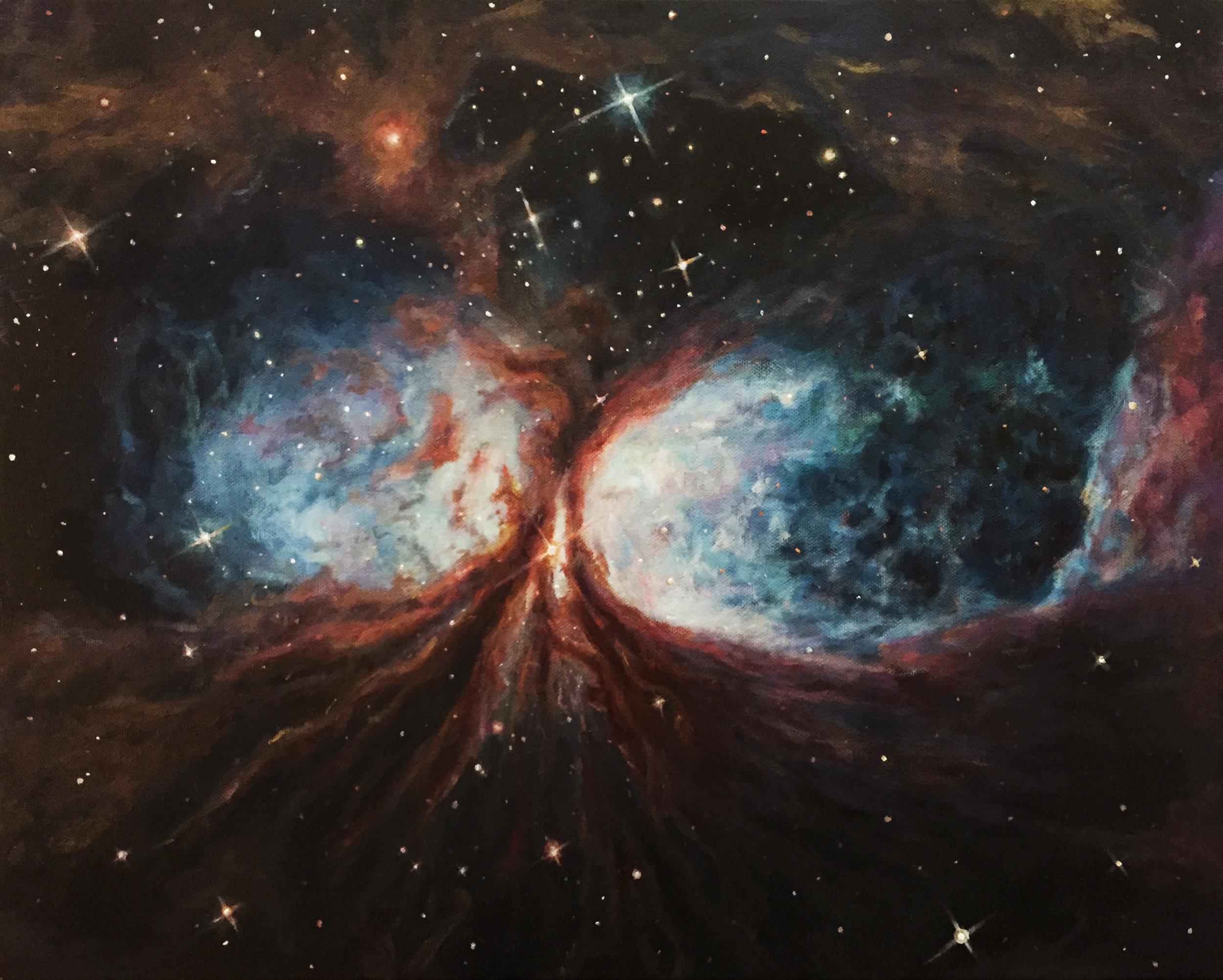Star Forming Region s106_Painting_Christie Snelson.jpg