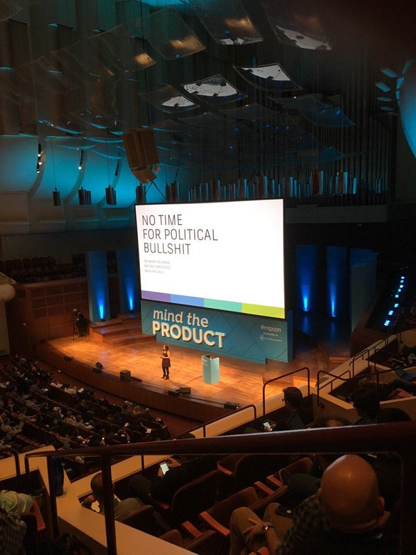 Nan's client Maria Giudice, VP of Experience Design at Autodesk, boldly taking the stage at Davies Symphony Hall, San Francisco for the Bloomberg Businessweek Conference on Design.