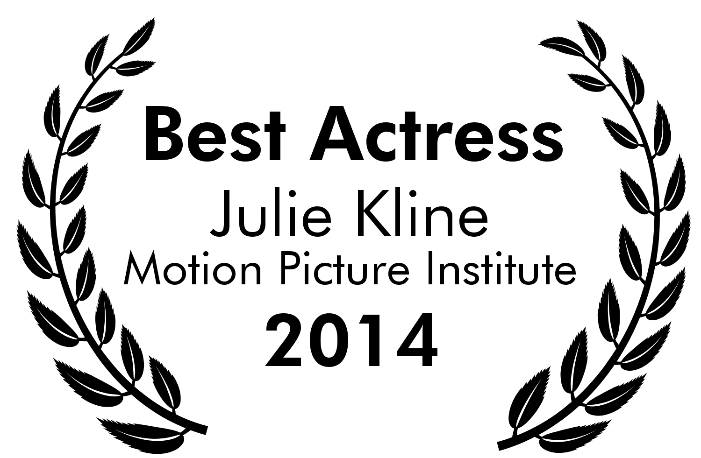 Best Actress - Julie Kline - MPI 2014.png