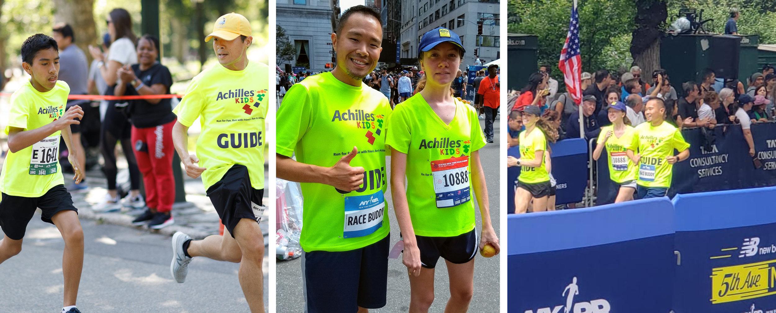Achilles Kids Volunteer of the Month: David Law