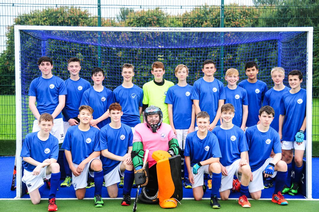 Boys' U16's Inter Districts - Team West took SILVER in 2017