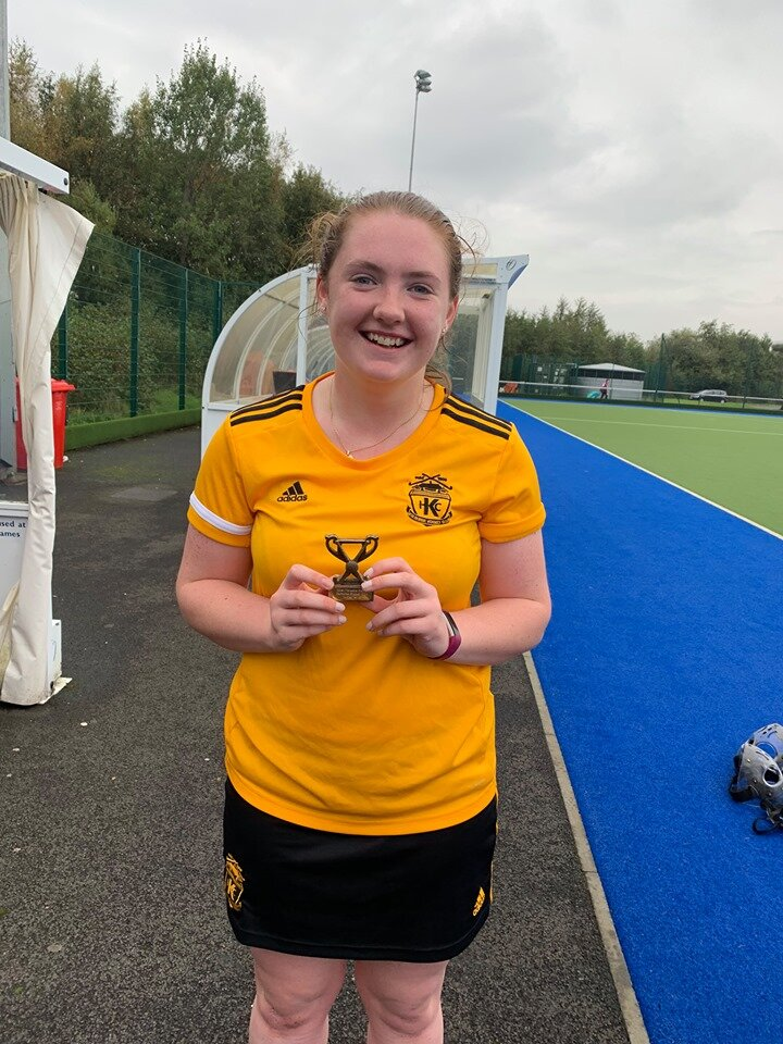 MVP Award for this match went to Megan Ralph - 13.10.19