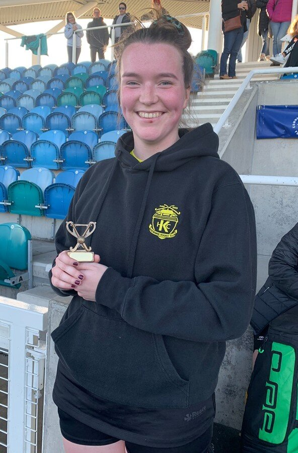 MVP for this match was D'arcy Campbell, 12.10.19