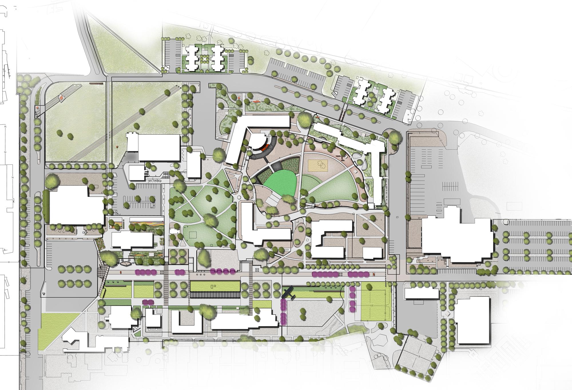 Santa Fe University of Art + Design Master Plan