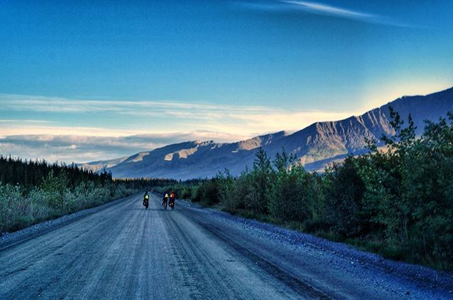 Today is March 1st, marking seven months on the road. We've come a long way since the days on the Dalton Highway north of the Arctic Circle, and with ten days remaining, we're beginning to feel the butterflies a'fluttering! In three days we'll be at la casa de Wanninkhofs, so we'll see you Miami folks soon. 📷: @thegregarious  #pro8000 #patrickrideson #adventurebybike #surlybikes #salsacycles #somafab #biketouring #pedalforever #worldbybike #roadslikethese #getoutstayout #sleepinthedirt #adventurecycling #southerntier #ortliebusa #brooksengland #cycleflorida #daltonhighway #cyclealaska