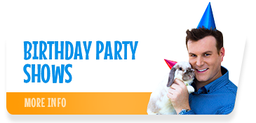 Mick Peck's award-winning kids birthday party magic show combines magic, comedy and a live rabbit! Shows Auckland-wide. Mick is a recipient of the Awesome Service Award and the Variety Artists Club of NZ Top Children's Entertainer Award.