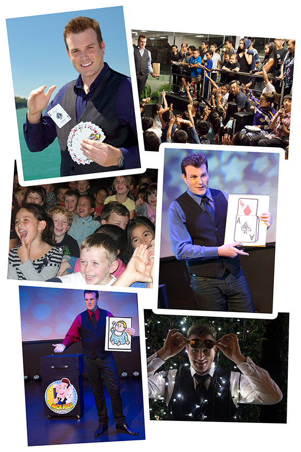 Planning an event in Auckland?  Mick Peck's magic show is a proven hit guaranteed to make your party or event a huge success!