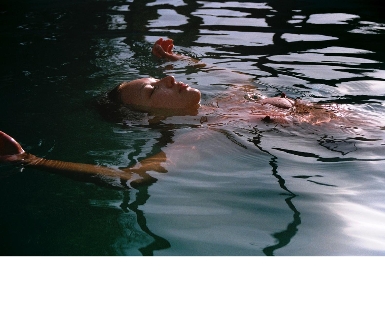 Holly in water, Spain, 2010
