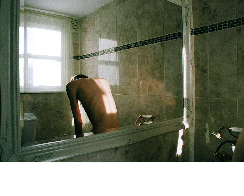 Marguerite's bathroom, Richmond, 2010