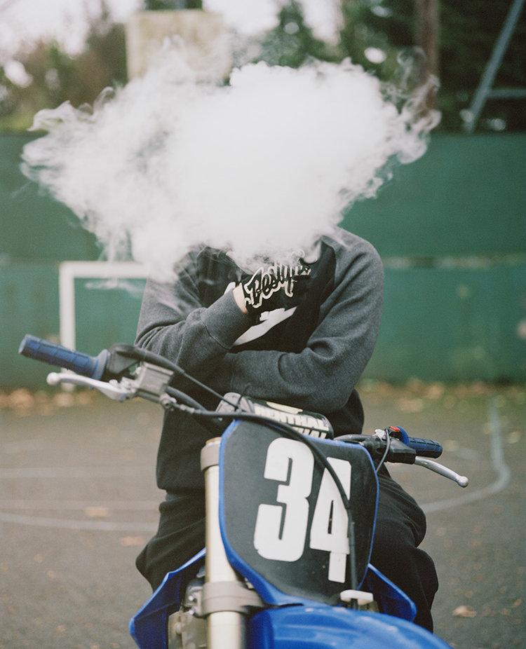In Da Air Berry, Urban Dirt Bikers © Spencer Murphy