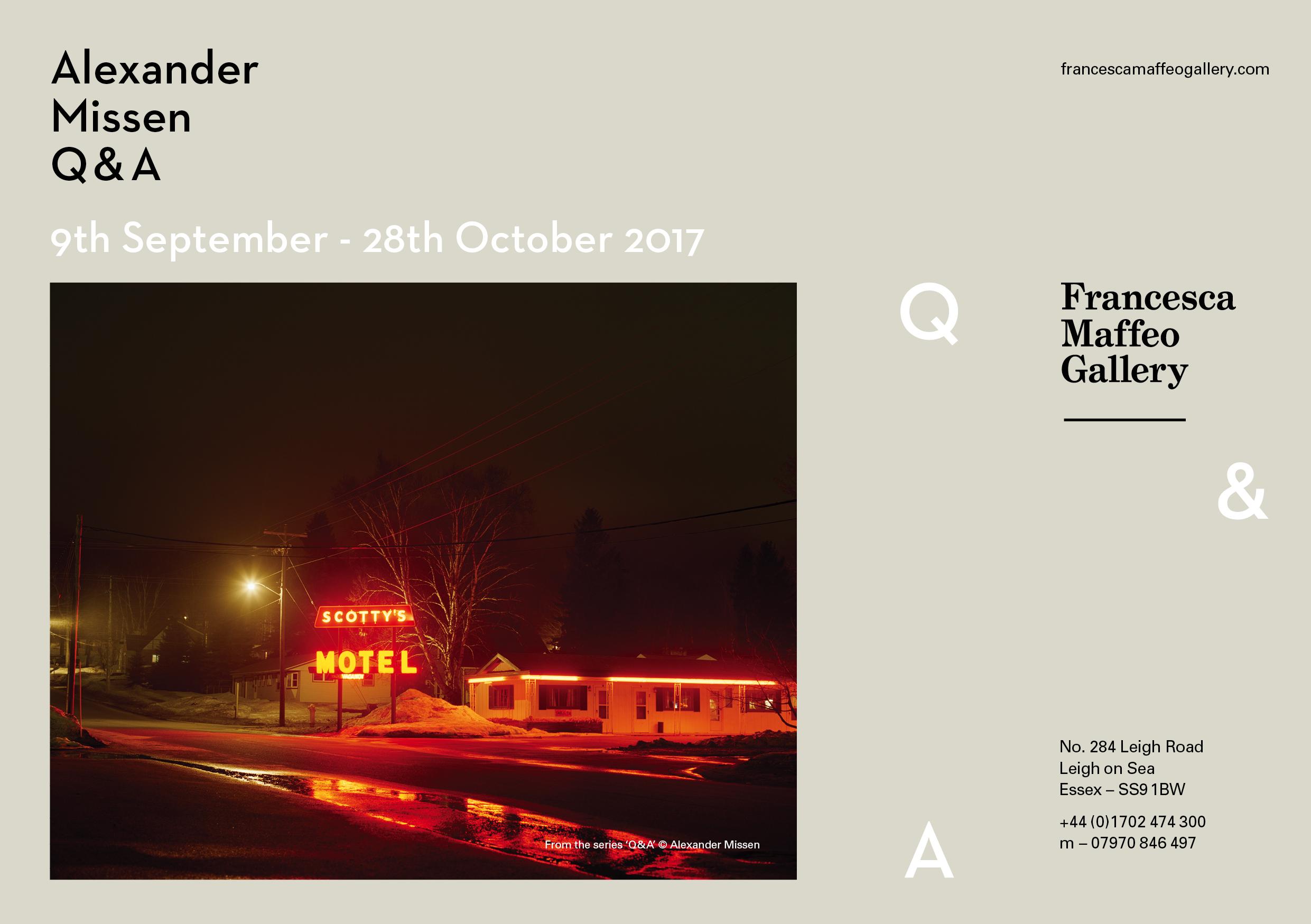 Alexander Missen | Q&A | Common Futures     Press Release      Print Sales