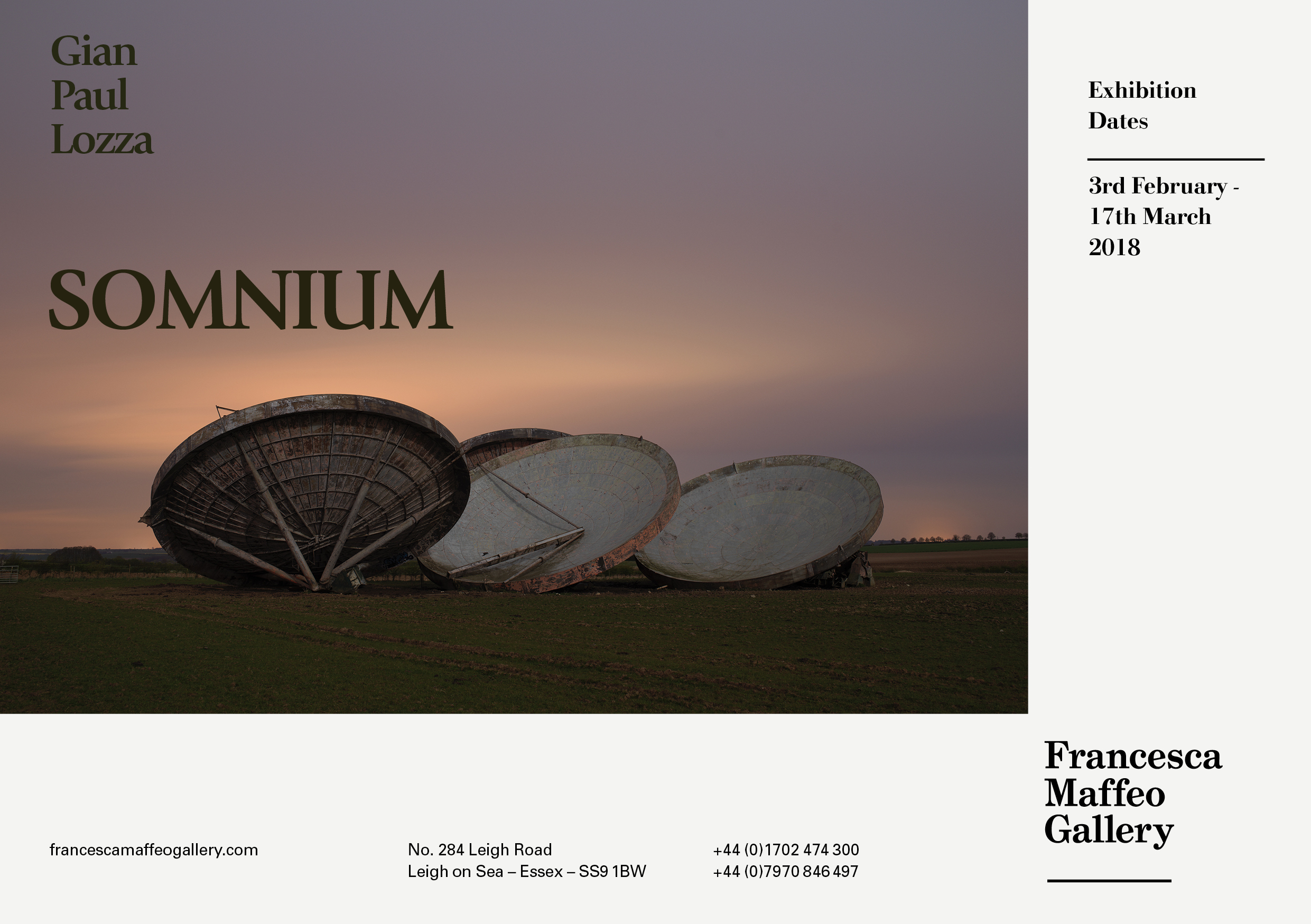Gian Paul Lozza | Somnium     Press Release      Print Sales