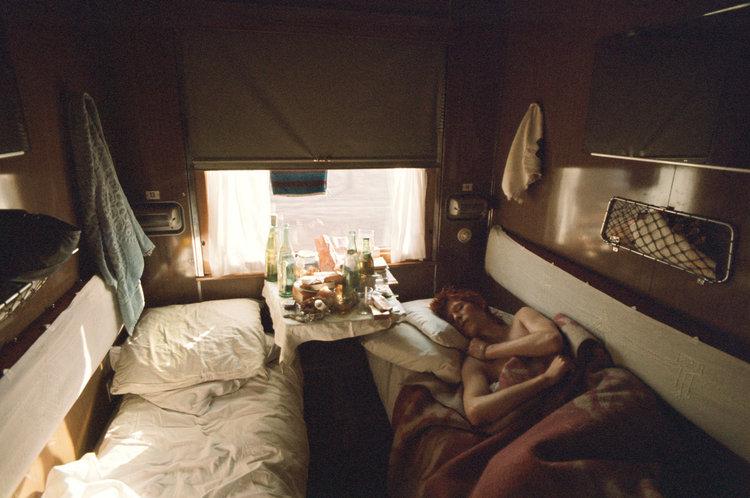 David Bowie: Trans Siberia Express, 1973Photography Geoff MacCormack