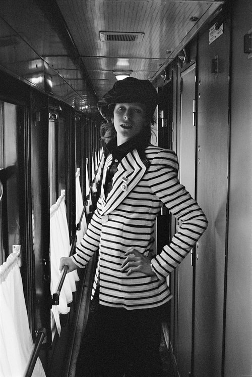 David Bowie: Siberia,Russia, 1973Images courtesy of the artist, ©Geoff MacCormack