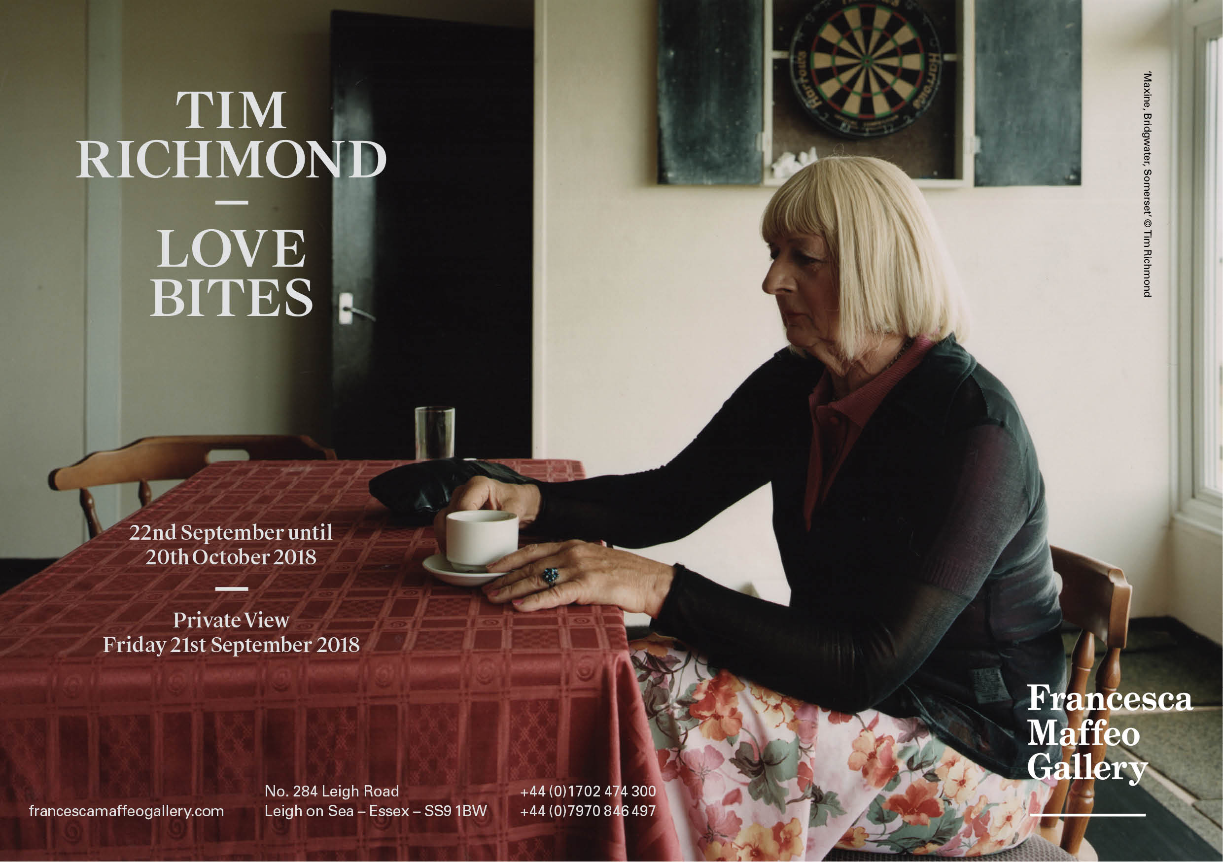 Tim Richmond | Love Bites     Press Release      Print Sales