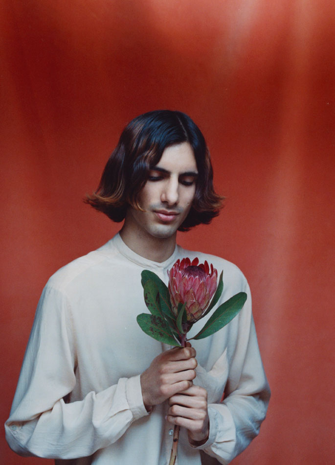 "© Jennifer Pattison 'Daud, Hackney 2014"" from the series  Flower Boys."