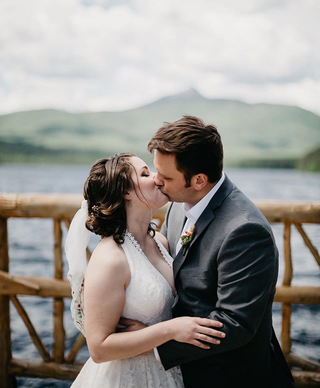 These two! Their first look was so windy and HOLY MOLY tick city! I think we lost count of how many we found in Nicole's dress and in our SHOES 😱 But it was the most beautiful day & the love between these two is so magical ❤️