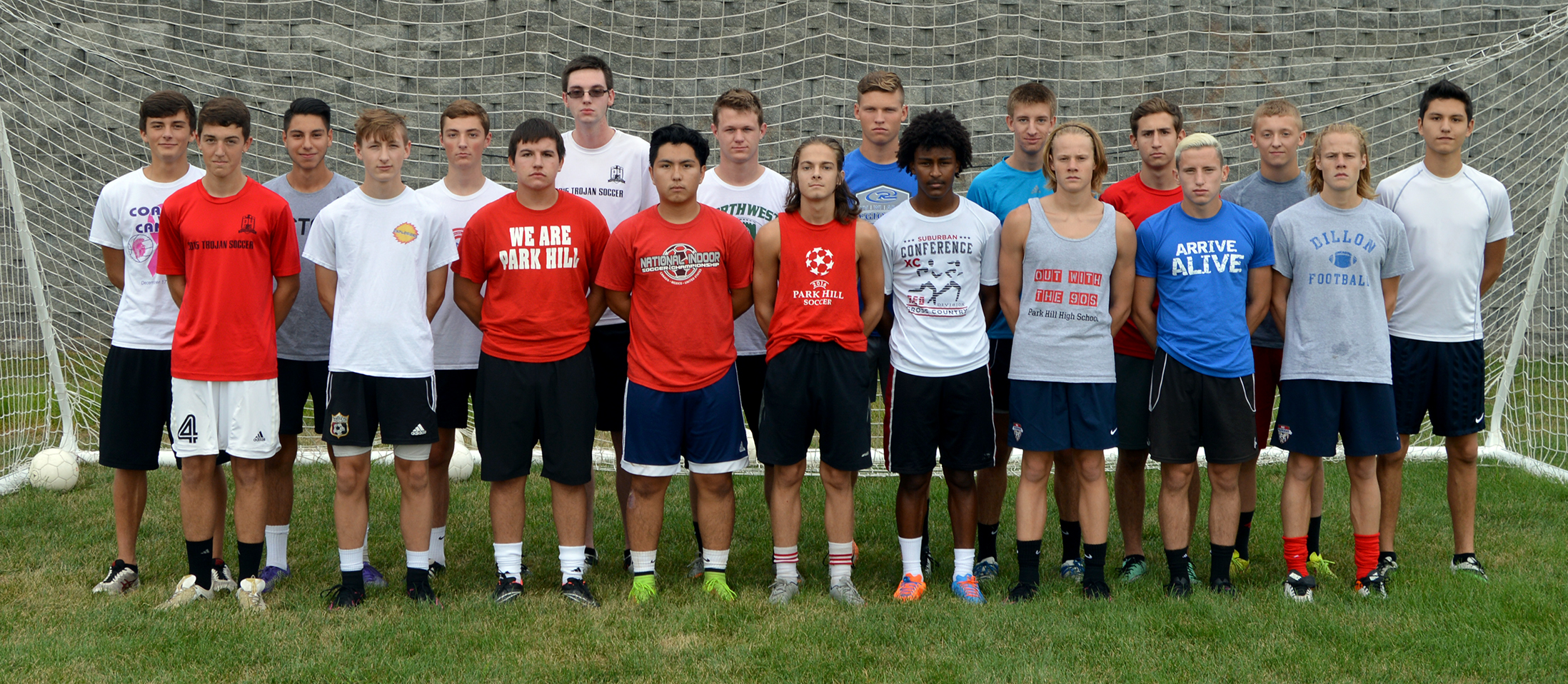 Front row, from left: Ryan Long, Jack Lowe, Matt Rodrigues, Damon Borrayo, Stephen Waldon, Abenezer Abraham, Alec Goodwin, Nico Bodmediano and Erik Goodwin. Back row, from left: Andrew Rich, Paulo Murguia, Jackson Turner, Rolly Abbott, Kyle Timmerman, Jackson Foutch, Jack Austin, Chris Munoz, Aaron Simpson and Elliot Hamilton