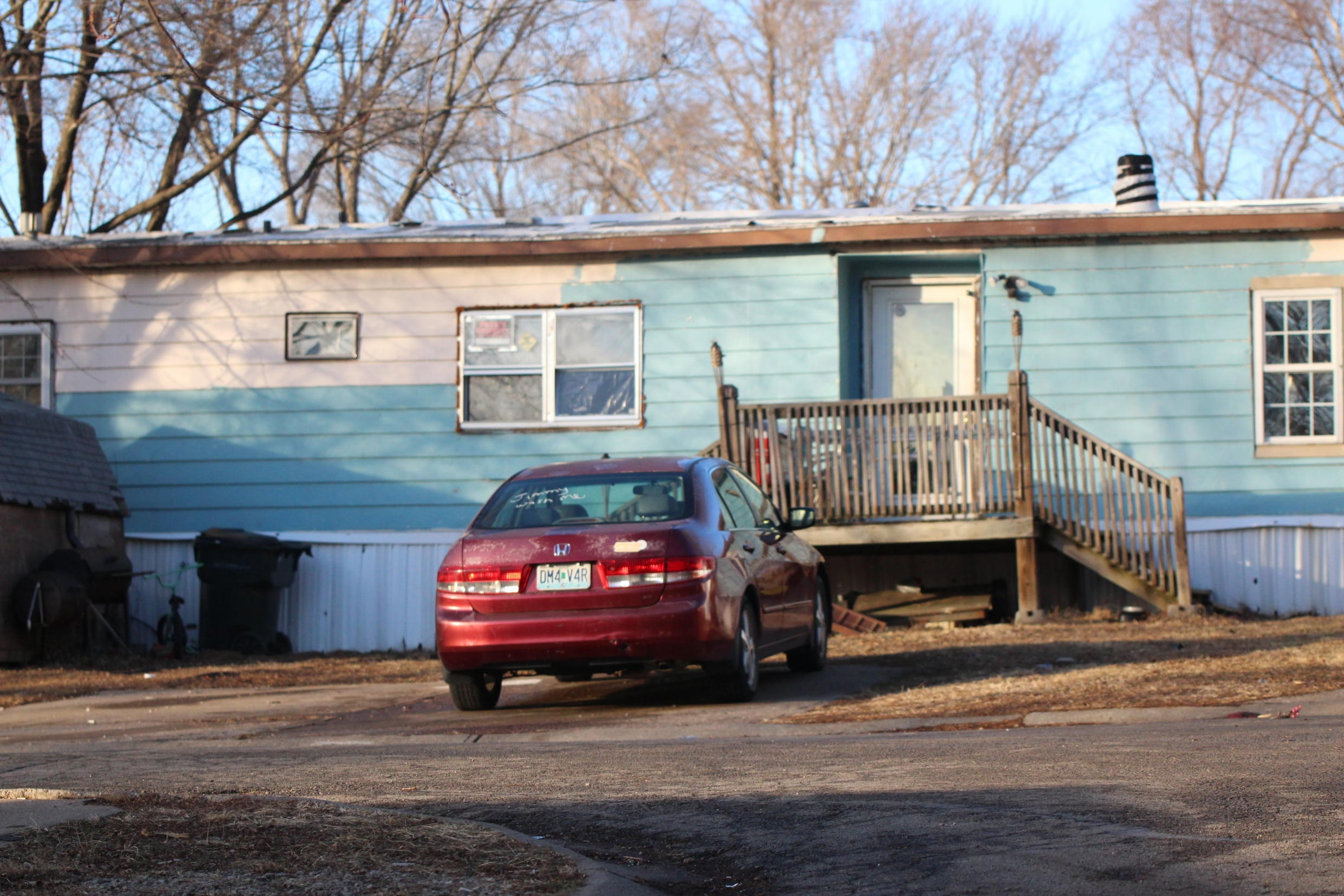 CODY THORN/Citizen photo A shooting was reported Thursday, Jan. 4 at this residence in Ferrelview, Mo. A toddler was injured with officials reporting another child pulled the trigger.