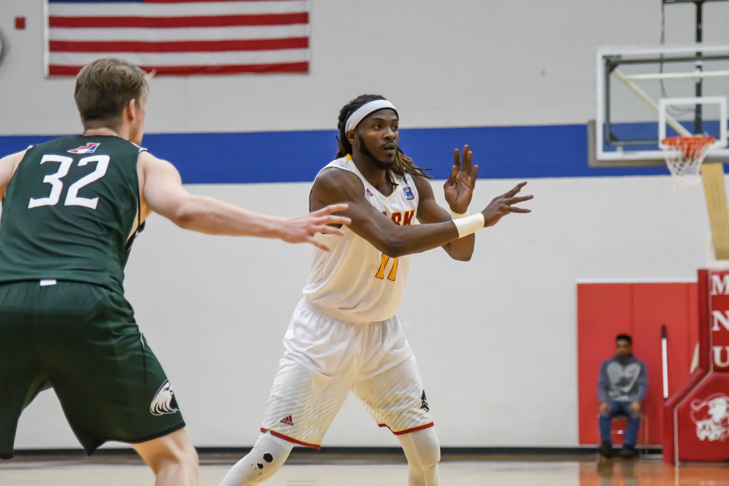 Park University/Special to the Citizen  Park basketball player Joseph Mebaley will be featured in a 21-minute documentary that will be played on Feb. 15 at 5:30 p.m. on the Parkville campus.